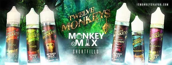 Twelve Monkeys Short Fill Banner
